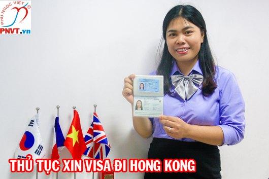thủ tục xin visa hongkong