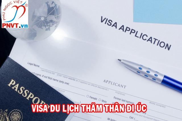 Thủ tục xin visa du lịch, thăm thân Úc