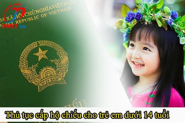 thủ tục làm hộ chiếu trẻ em