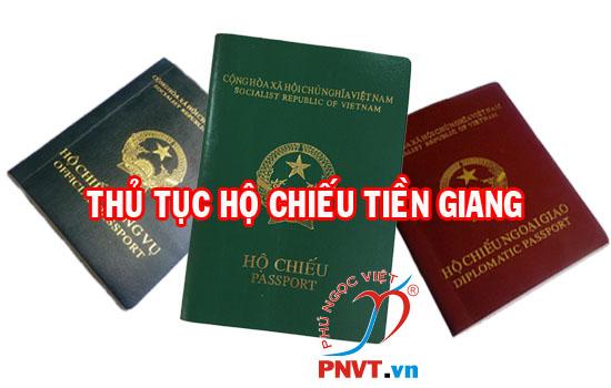 Thủ tục làm hộ chiếu tại Tiền Giang