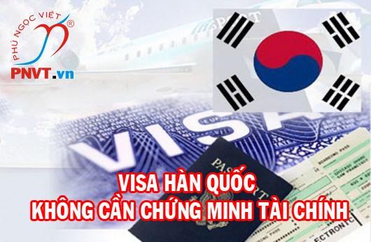 Xin visa Hàn Quốc 5 năm không cần chứng minh tài chính