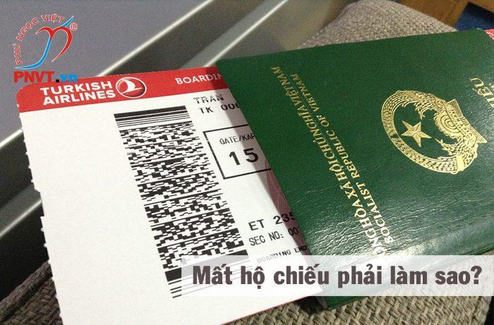mất hộ chiếu phải làm sao