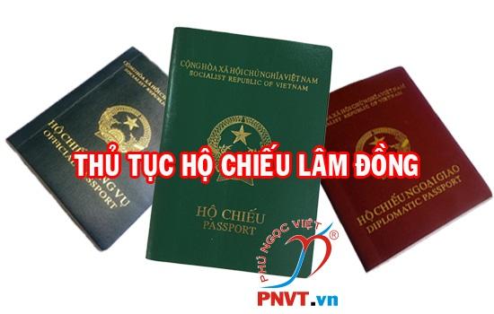 Thủ tục làm hộ chiếu ở Lâm Đồng