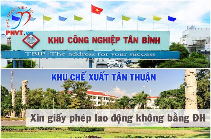Xin giấy phép lao động không có bằng đại học tại khu công nghiệp Tân Bình