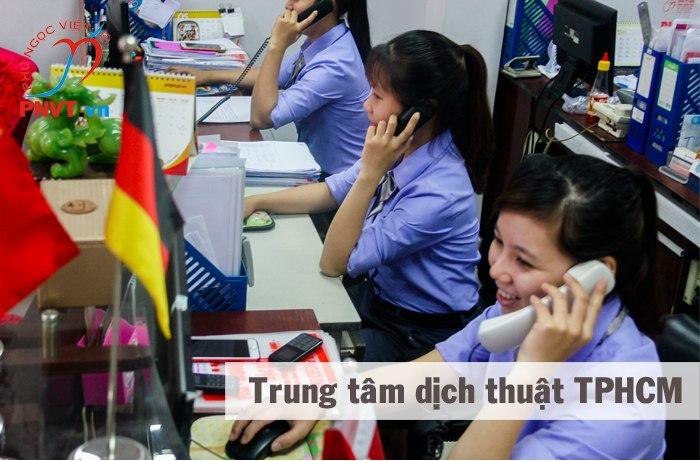 trung tâm dịch thuật
