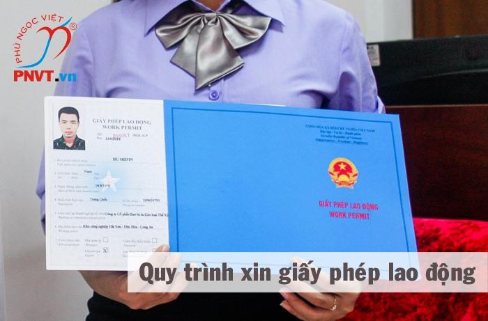 quy trình xin giấy phép lao động cho người nước ngoài