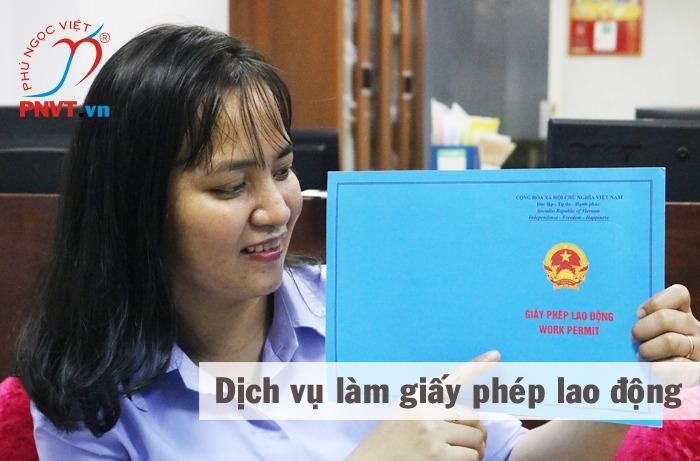dịch vụ làm giấy phép lao động