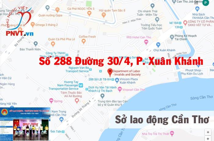 Sở Lao động Thương binh và xã hội thành phố Cần Thơ