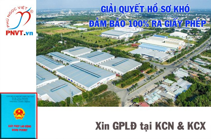 dịch vụ làm giấy phép lao động tại khu công nghiệp khu chế xuất tphcm