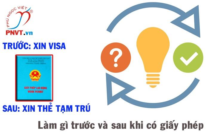 Giấy phép lao động và mối tương quan với việc nhập cảnh, lưu trú ở Việt Nam