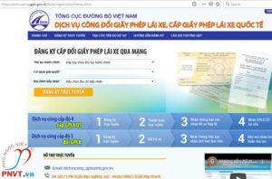 đổi giấy phép lái xe quốc tế việt nam cấp