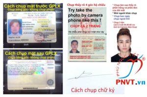 hướng dẫn đổi giấy phép lái xe quốc tế việt nam cấp