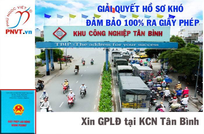 Quy trình làm giấy phép lao động cho người nước ngoài tại khu công nghiệp Tân Bình, TPHCM