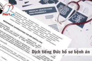 Dịch công chứng tiếng Đức hồ sơ bệnh án