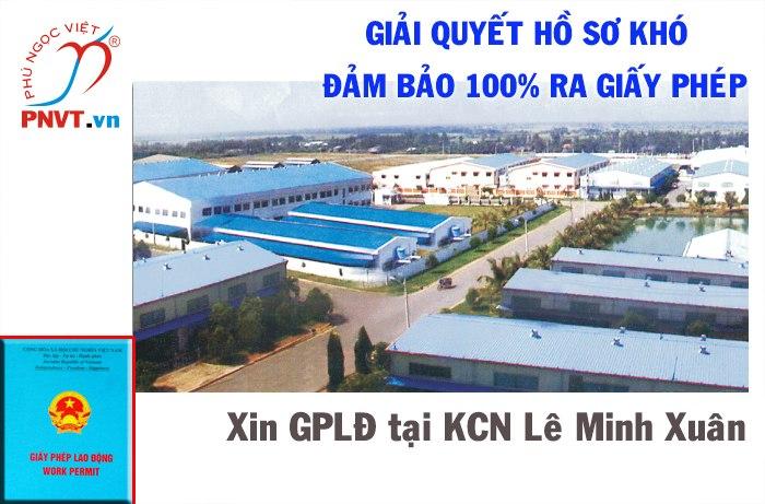 giấy phép lao động tại khu công nghiệp Lê Minh Xuân TPHCM