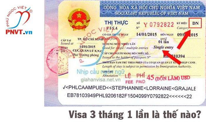 Dịch vụ gia hạn visa du lịch