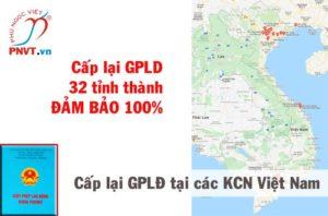 Xin cấp lại giấy phép lao động ở khu công nghiệp Việt Nam