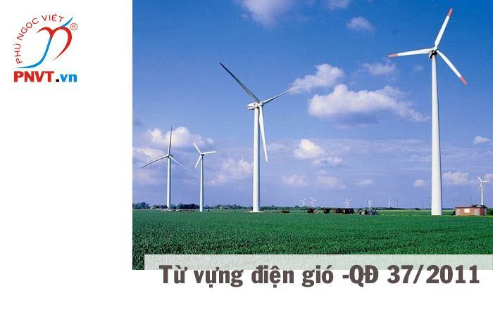 Từ vựng về lĩnh vực điện gió