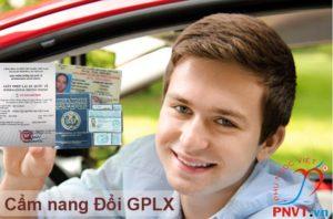 cẩm nang đổi giấy phép lái xe