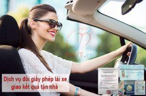 dịch vụ đổi giấy phép lái xe