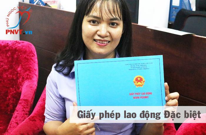 hồ sơ làm giấy phép lao động đặc biệt