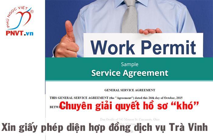 Xin cấp giấy phép lao động cho người nước ngoài là nhà cung cấp dịch vụ theo hợp đồng tại Việt Nam