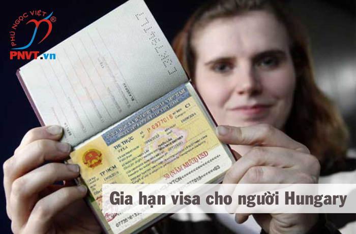 thủ tục gia hạn visa cho người hungary