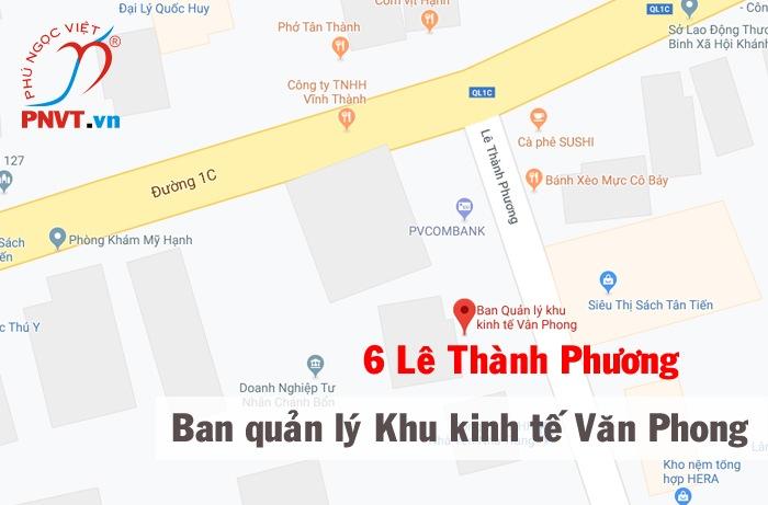 Ban Quản lý Khu kinh tế Vân Phong tỉnh Khánh Hòa