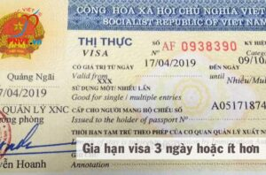 Gia hạn visa khẩn trong 3 ngày tại TPHCM