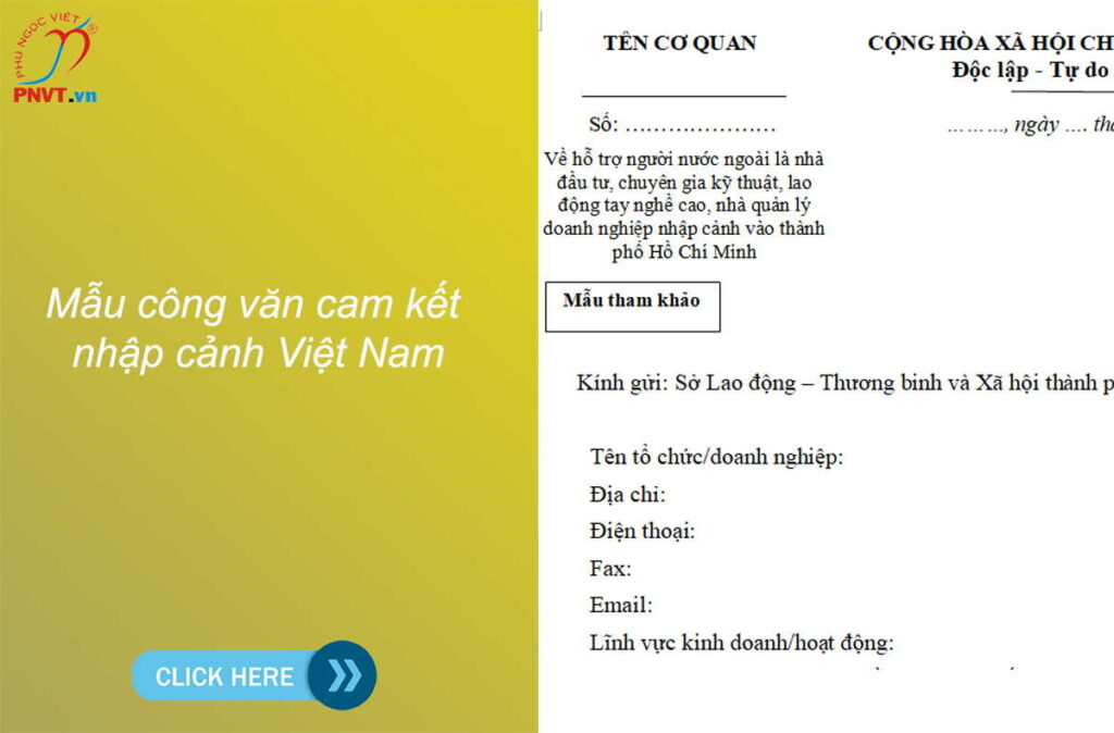 Mẫu công văn cam kết nhập cảnh Việt Nam.doc .pdf