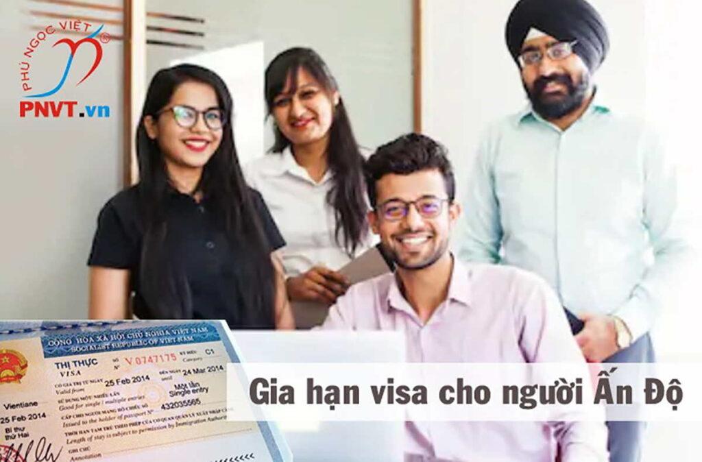 gia hạn visa du lịch cho người ấn độ
