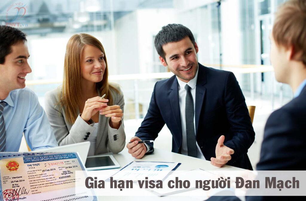 thủ tục gia hạn visa cho người đan mạch
