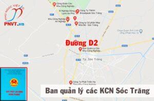 Ban Quản lý các khu công nghiệp tỉnh Sóc Trăng