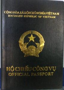Người có hộ chiếu công vụ Việt Nam sẽ được miễn thị thực Hồng Kông