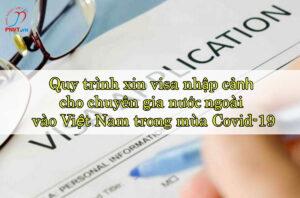 quy trình xin visa nhập cảnh Việt Nam trong mùa covid-19