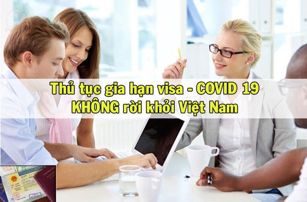 Gia hạn visa Việt Nam không cần xuất cảnh tránh rủi ro nhiễm Covid-19