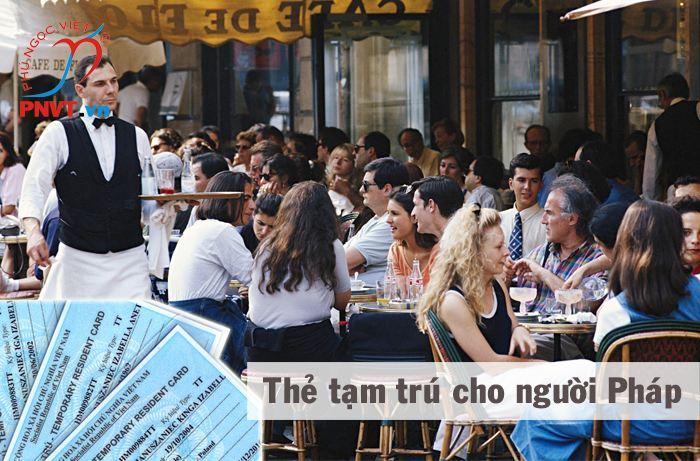 Dịch vụ, thủ tục cấp thẻ tạm trú cho người Pháp tại TPHCM