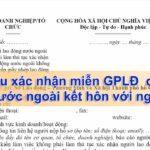 Miễn giấy phép lao động cho người nước ngoài kết hôn với công dân Việt Nam