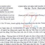 Công văn 15616/SLĐTBXH-VLATLĐ hướng dẫn làm báo cáo nhu cầu sử dụng người lao động nước ngoài
