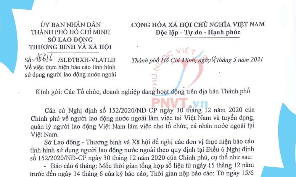 công văn 15616/SLĐTBXH-VLATLĐ