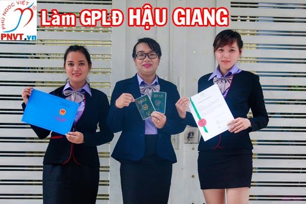 Dịch vụ làm giấy phép lao động ở Hậu Giang