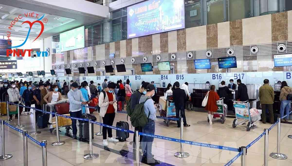 Mở lại chuyến bay quốc tế đến Sân bay Nội bài, Tân Sơn Nhất