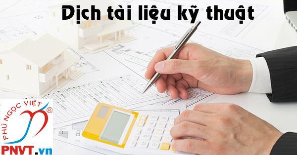 dịch thuật tài liệu kỹ thuật tiếng nhật