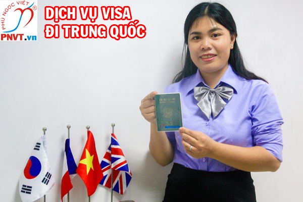 Thủ tục xin visa đi Trung Quốc công tác tại TPHCM
