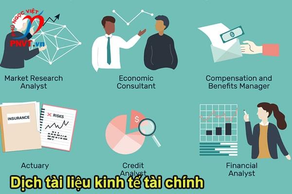 Dịch công chứng tài liệu kinh tế