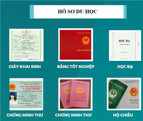 Dịch tiếng Việt sang tiếng Thái hồ sơ du học