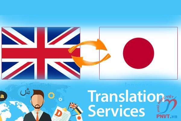 Dịch vụ dịch tiếng Nhật