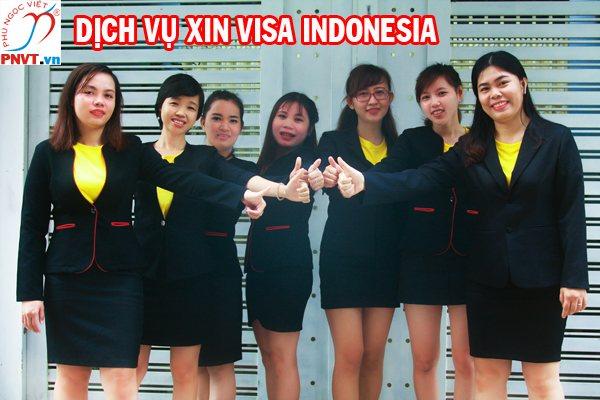Dịch vụ xin visa Indonesia cho người nước ngoài tại Việt Nam
